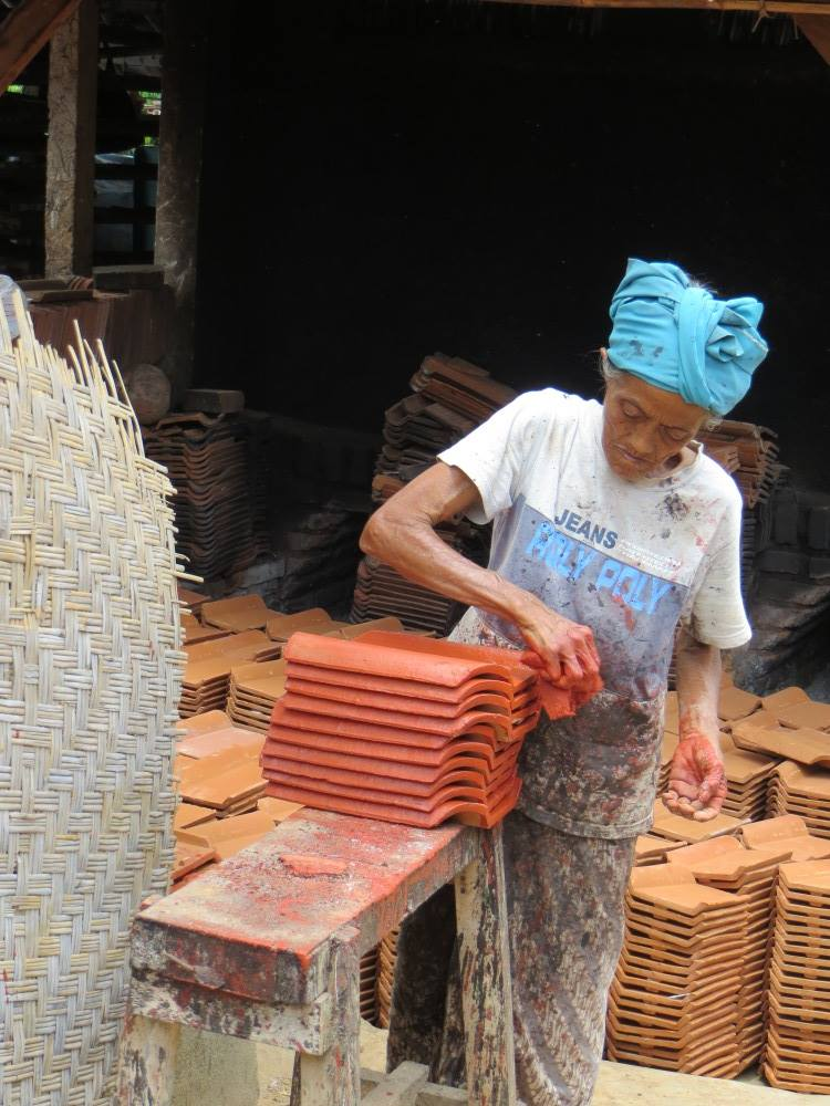 Pejaten : village de fabrication des tuiles