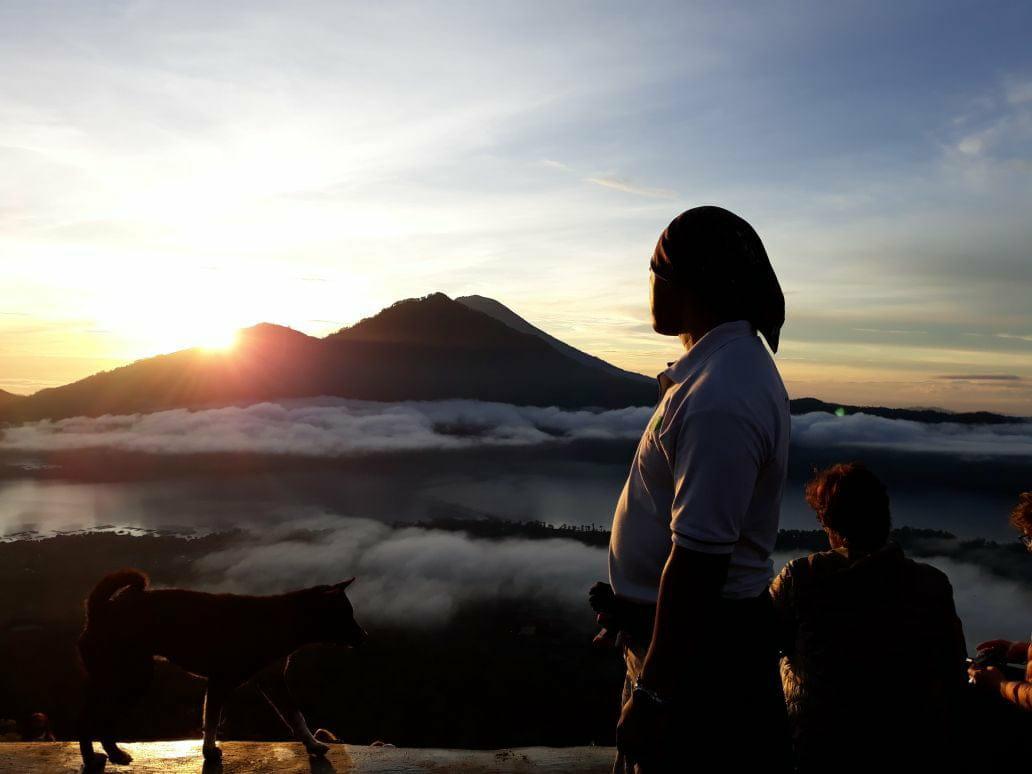 Ascension volcan Batur possible