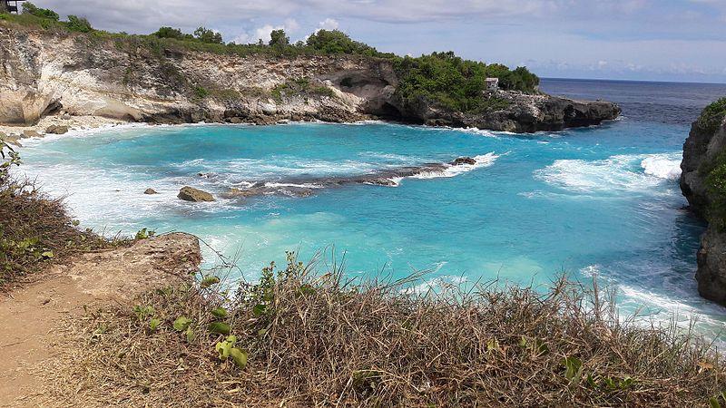 Blue lagoon nusa lembongan bali