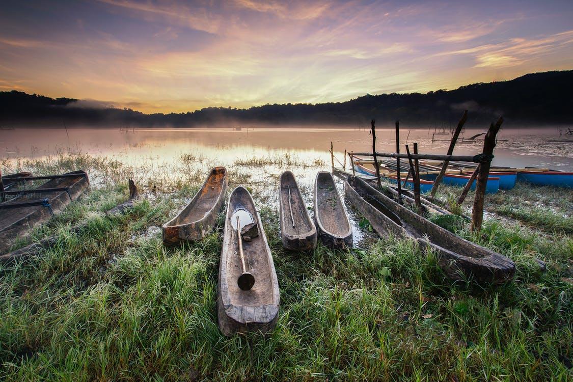 Balade en pirogue sur lac Tambligan