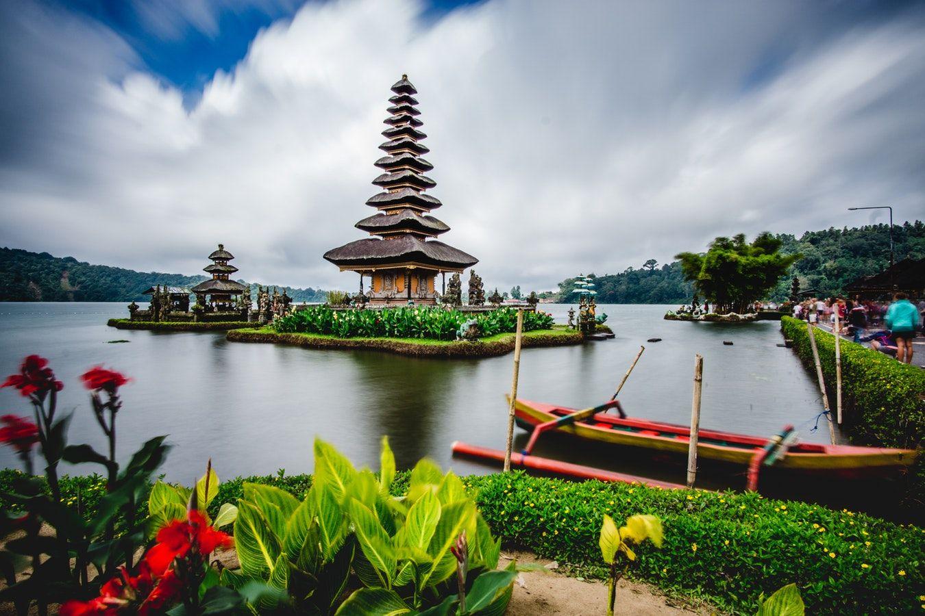 Lac Bratan et son temple Ulun Danu