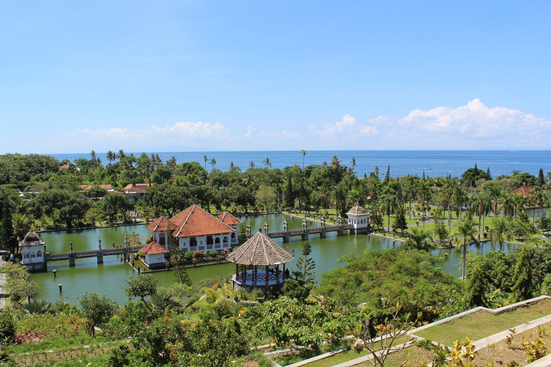 Palais flottant : Taman Ujung